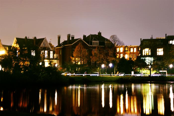Vondelpark by night
