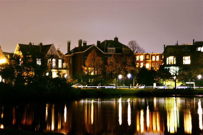 Vondelpark by night